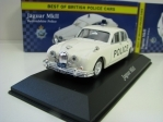 Jaguar MKII Bedfordshire Police 1:43 Corgi Best Of Britisch Police Cars Atlas Edition