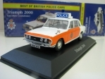 Triumph 2000 Lancashire Constabulary 1:43 Corgi Best Of Britisch Police Cars Atlas Edition