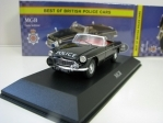 MGB Lancashire 1:43 Corgi Best Of Britisch Police Cars Atlas Edition