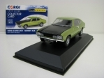 Ford Capri Mk1 1600GT XLR Green Metallic 1:43 Corgi Vanguards