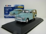 Morris Minor Traveller 1000 Bermuda Blue 1:43 Corgi Vanguards
