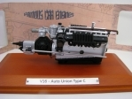 Motor Auto Union Type C V-16 1:18 Atlas Edition