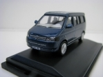 Volkswagen T5 California Camper Metallic Night Blue 1:76 Oxford