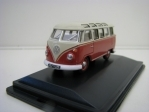 Volkswagen T1 Samba Bus Red Beige 1:76 Oxford