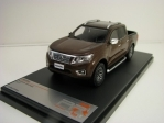 Nissan Navara 2017 Pick Up Brown metallic 1:43 Premium X PRD593