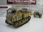 Steyer Raupenschlepper s kanonem Antichar PaK 40 DE 75mm 1:43 Atlas Edition