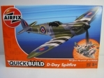 Stavebnice Quick-Build D-Day Supermarine Spitfire Airfix J6045