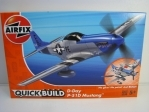 Stavebnice Quick-Build D-Day P-51D Mustang Airfix J6046