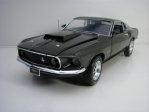 Ford Mustang Boss 429 1969 Green American Muscle 1:18 Ertl - Auto World