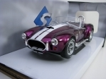 Shelby AC Cobra 427 MK II Cabrio Purple 1:18 Solido