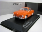 Volkswagen Karmann Ghia 1962 Orange 1:43 White Box WB064
