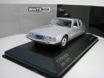 Citroen SM 1970 Silver 1:43 White Box WB297