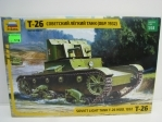 Tank T-26 MODEL 1932 Soviet light tank 1:35 Zvezda 3542