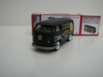 Volkswagen T1 Food Truck Black 1:59 Majorette Box