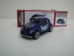 Volkswagen Beetle Summer Time Blue 1:64 Majorette Box