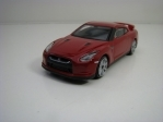 Nissan GT-R Red Silver Wheels 1:43 Bburago