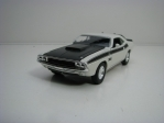 Dodge Challenger T/A 1970 White 11,8 cm Welly