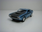 Dodge Challenger T/A 1970 Blue 11,8 cm Welly