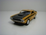 Dodge Challenger T/A 1970 Yellow 11,8 cm Welly
