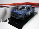 Ford F-150 Raptor 2017 Blue 1:27 Motor Max