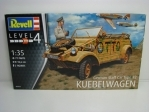 Kubelwagen German Staff car Type 82 stavebnice 1:35 Revell 03253