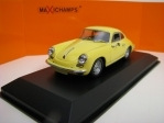 Porsche 356 C Carrera 2 1963 Yellow 1:43 Maxichamps