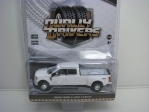 Ford F-350 Lariat 2018 White 1:64 Greenlight Dually Drivers