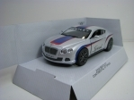 Bentley Continental GT Speed 2012 Silver Pull Back Kinsmart Box