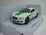 Bentley Continental GT Speed 2012 White Pull Back Kinsmart Box