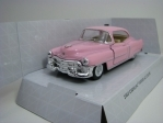 Cadillac Series 62 Coupe 1953 Pink Pull Back Kinsmart Box