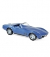 Chevrolet Corvette Convertible 1969 Blue Metallic 1:18 Norev