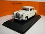 Mercedes-Benz 220 S 1956 White 1:43 Maxichamps