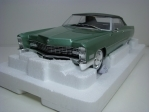 Cadillac Deville Soft Top 1968 Green 1:18 KK scale