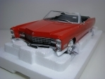 Cadillac Deville Convertible 1968 Red 1:18 KK scale