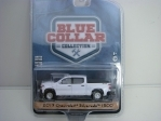 Chevrolet Silverado 1500 2019 White 1:64 Greenlight Blue Collar