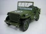 Jeep Willys MB 1941 Military Police 1:18 Auto World