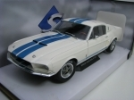 Shelby Mustang GT500 White 1967 1:18 Solido