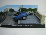 Renault 11 Taxi Wiew To A Kill James Bond 007 1:43 Universal Hobbies