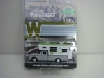 Dodge D 100 1966 Winnebago Slide-in Camper 1:64 Greenlight Hobby Exlusive