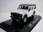 Land Rover Defender 110 White 1:47 Bburago