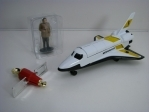 James Bond Moonraker Raketoplán a figurka Hugo Drax 65401 Corgi