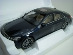Mercedes-Benz S-Class AMG-Line 2018 Dark Blue Metallic 1:18 Norev