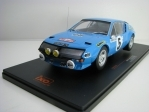 Alpine Renault A310 No.5  Rallye MC 1975 1:18 Ixo models
