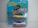2Pack 50S a Fins Buick 1953 a Cadillac 1959 1:64 Johny Lightning