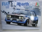 Fiat 131 Abarth No.10 Rallye MC 1980 1:24 Italeri 3662