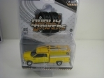 Dodge Ram 3500 Laramie 2018 Yellow 1:64 Greenlight Dually Drivers
