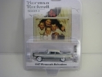 Plymouth Belvedere 1957 Norman Rockwell series 2 1:64 Greenlight