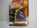 Chevrolet Impala Convertible 1969 Butternut Yellow 50 Years 1:64 Johny Lightning