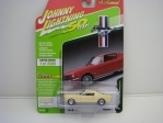 Ford Mustang 2+2 1965 Phoenician Yellow 50 Years 1:64 Johny Lightning
