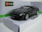 Mercedes-Benz SLS AMG Roadster Black 1:32 Bburago